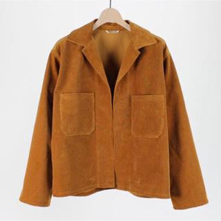 COMOLI - AURALEE 18ss ウォッシュドコーデュロイシャツジャケット
