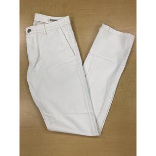 SHIPS - grown&sewn パンツ ホワイト