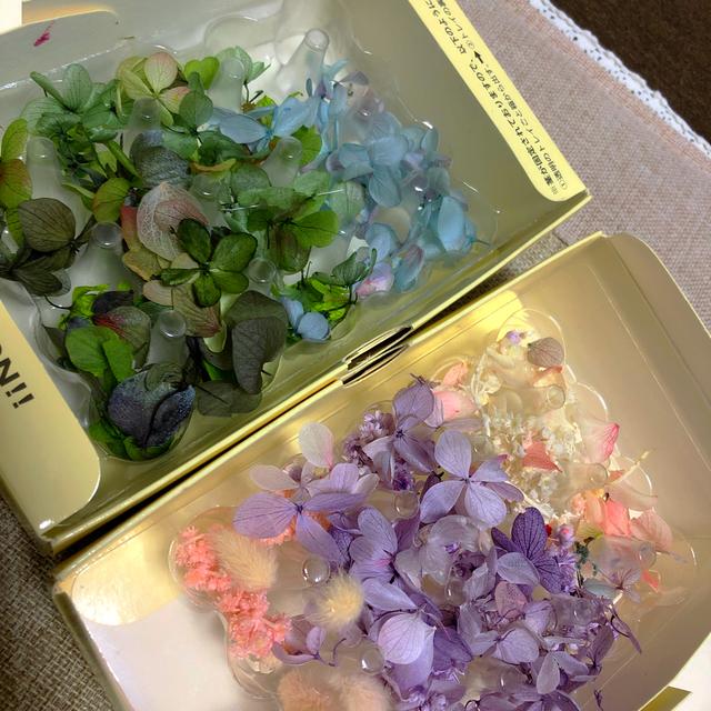 種類MIX・花びら・詰め合わせ・色MIX・花材・ドライフラワー・大きさいろいろ ハンドメイドのフラワー/ガーデン(ドライフラワー)の商品写真