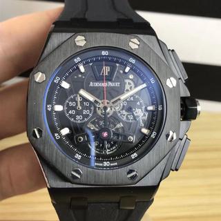 AUDEMARS PIGUET - 箱付き 腕時計 オーデマピゲ ラバーベルト メンズ 人気