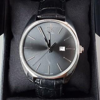カルバンクライン(Calvin Klein)のkakuteruさん専用カルバンクライン K2F211 黒文字盤 デイト(腕時計(アナログ))