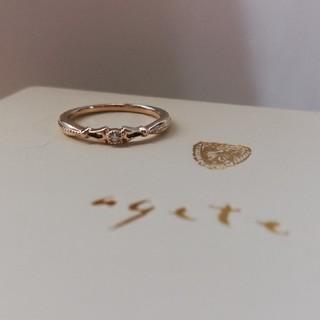 アガット(agete)のagete/ダイヤ/K10/ピンキーリング(リング(指輪))