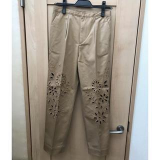 チェスティ(Chesty)のchesty cutwork embroidery pants(カジュアルパンツ)