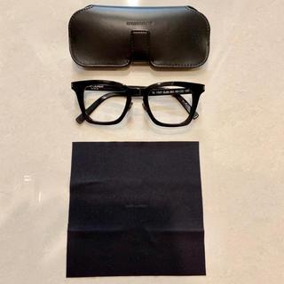 サンローラン(Saint Laurent)のSAINT LAURENT 黒縁メガネ SL 139/F SLIM 001(サングラス/メガネ)