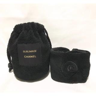 シャネル(CHANEL)のCHANEL シャネル SUBLIMAGE ヘアバンド&巾着セット(ヘアバンド)