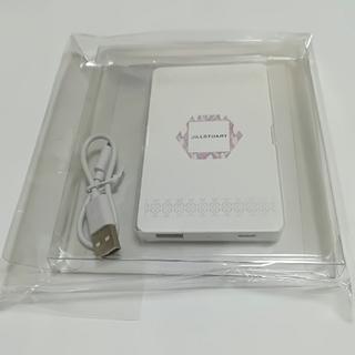 ジルスチュアート(JILLSTUART)のジルスチュアートモバイルバッテリー(バッテリー/充電器)