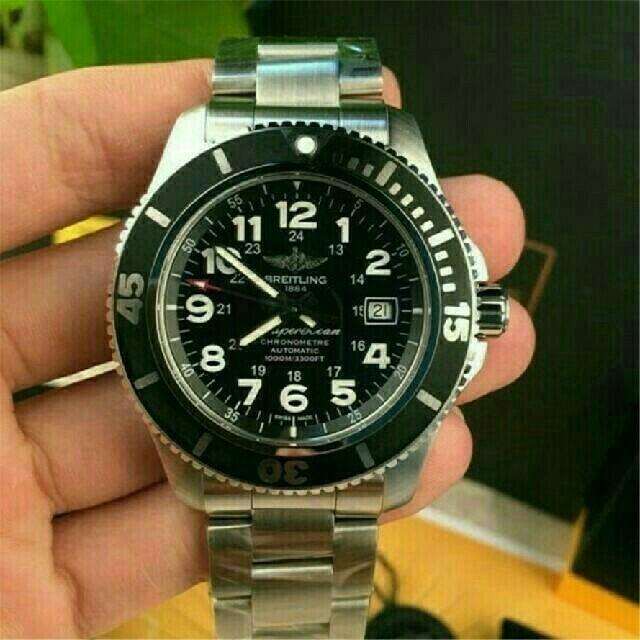 BREITLING - ブライトリング 腕時計 クロノグラフ ビジネス 時計 の通販 by 彩那_'s shop|ブライトリングならラクマ