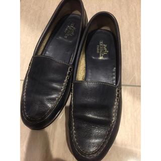 エルメス(Hermes)のHERMES エルメス ローファー パンプス サイズ6(ローファー/革靴)