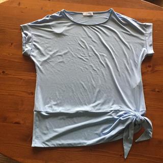 カルバンクライン(Calvin Klein)のほぼ新品‼︎ カルバンクライン 綺麗なデザイン ブルーのインナー サイズL(シャツ/ブラウス(半袖/袖なし))