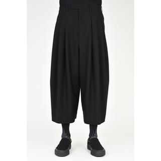 LAD MUSICIAN - 19SS 3TUCK CROPPED WIDE SLACKS