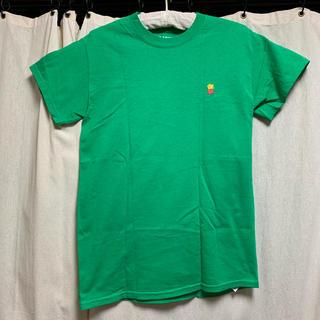 エクストララージ(XLARGE)のXLARGE 緑 ポテト ハンバーガーショップ パロディ Tシャツ(Tシャツ(半袖/袖なし))