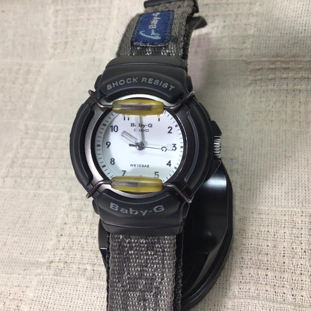 Baby-G - 【希少アナログBaby–G】カシオ腕時計 ベビーG BG20の通販 by Takezo  shop|ベビージーならラクマ