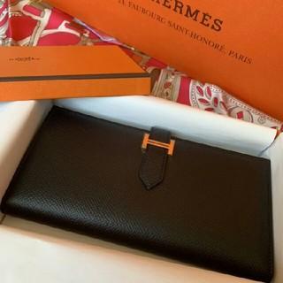 エルメス(Hermes)の正規品 HERMES エルメス《ベアン》スフレ 長財布(長財布)