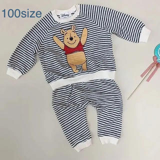 プーさんセットアップ 100size(Tシャツ/カットソー)