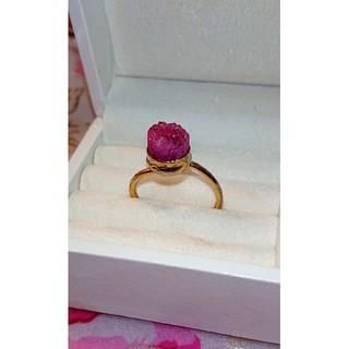 ピンクコバルトカルサイト リング♡(リング(指輪))