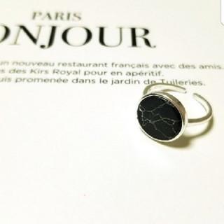 アングリッド(Ungrid)の大理石デザイン リング シルバー925(リング(指輪))