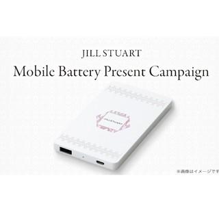 ジルスチュアート(JILLSTUART)のJILL STUART ジルスチュアート ノベルティ モバイルバッテリー(バッテリー/充電器)