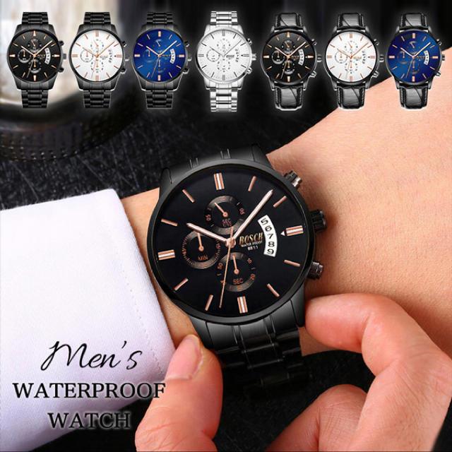 腕時計 メンズ腕時計 メンズウォッチ 男性 メンズ 防水腕時計ウォータープルーフの通販 by ラマ's shop|ラクマ