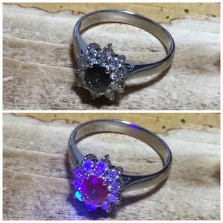 神様の悪戯❗️カラーチェンジストーン✨アレキサンドライト✨リング✨指輪✨12号(リング(指輪))