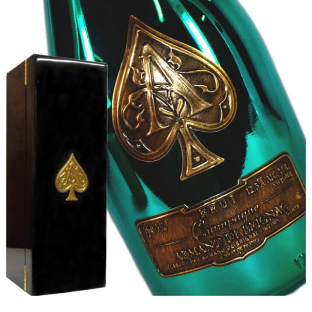 Dom Pérignon(ドンペリニヨン)のアルマンド ブリニャック グリーン マスターズエディション 食品/飲料/酒の酒(シャンパン/スパークリングワイン)の商品写真