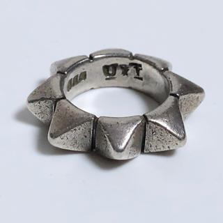 アンダーカバー(UNDERCOVER)の希少 アンダーカバー × トラッシュ 魔女期 スタッズリング 8号(リング(指輪))