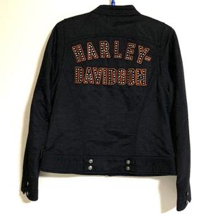 Harley Davidson - 【ハーレーダビッドソン】レディース S ブラック系 ナイロン ジャケット