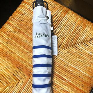 ジャンポールゴルチエ(Jean-Paul GAULTIER)のJEAN PAUL GAULTIER 折りたたみ傘 日傘 ジャンポールゴルチエ(傘)