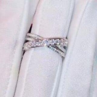カルティエ(Cartier)のCARTIER 指輪ホワイトゴールド(リング(指輪))