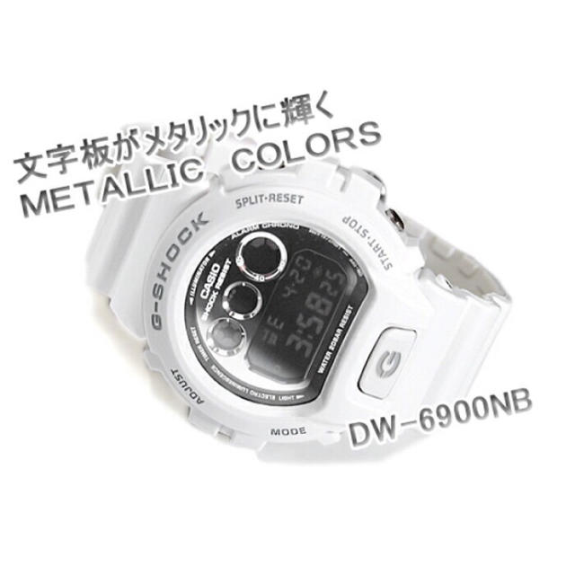 G-SHOCK - 最安出品【CASIO】G-SHOCK DW-6900NB-7 メタリック 腕時計の通販 by いとう's shop|ジーショックならラクマ