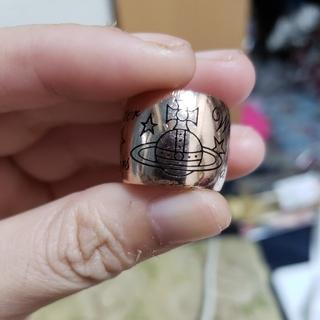 ヴィヴィアンウエストウッド(Vivienne Westwood)のヴィヴィアン ピンクゴールド リング(リング(指輪))