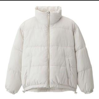 ジーユー(GU)の新品 GU コート 中綿 ブルゾン ダウンジャケット プチプラのあや アウター(ダウンジャケット)
