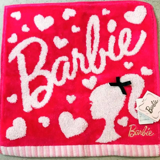 Barbie(バービー)のBarbie ハンドタオル レディースのファッション小物(ハンカチ)の商品写真