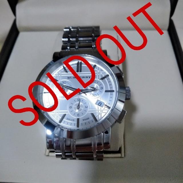 BURBERRY - クロノグラフburberry腕時計の通販 by カカ's shop|バーバリーならラクマ