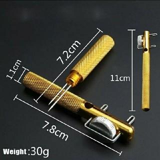●針結びツール1本コミコミ価格●お祭りホドキ、ポケットコンパクトサイズ(釣り糸/ライン)