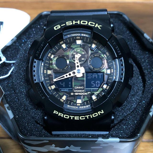 G-SHOCK - 送料無料♡新品未使用♡CASIO 腕時計 G-SHOCK GA-100CFの通販 by ふくちゃん's shop ジーショックならラクマ