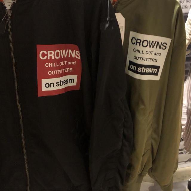 RODEO CROWNS WIDE BOWL(ロデオクラウンズワイドボウル)のメニータグ MA1  レディースのジャケット/アウター(ミリタリージャケット)の商品写真