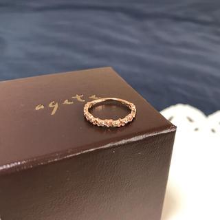 ノジェス(NOJESS)の『R udy様専用』ノジェス  K10 ピンクゴールド ハート柄ピンキーリング(リング(指輪))