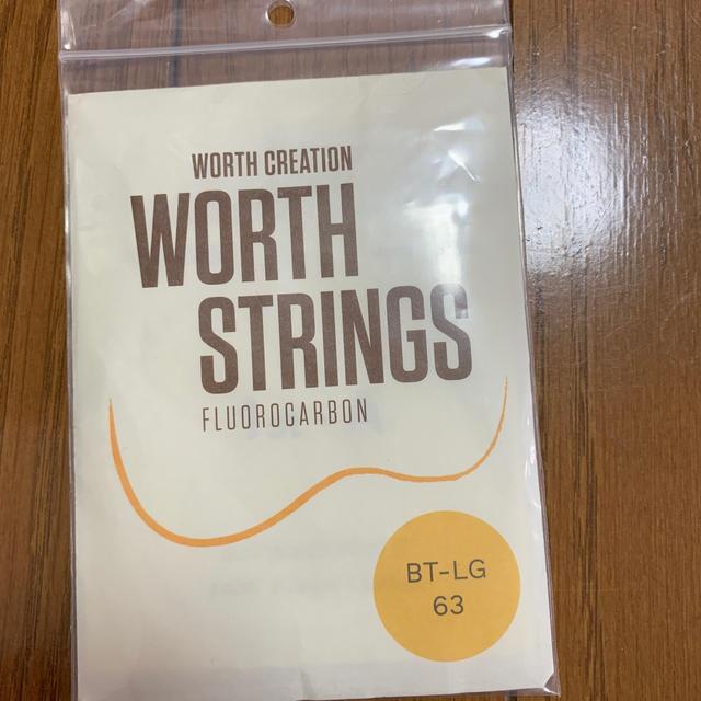 MUSIC様専用WORTH STRINGS BT-LG 63 セット 楽器のウクレレ(その他)の商品写真