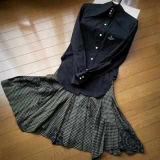 Vivienne Westwood - チューダーローズ柄イレギュラースカート