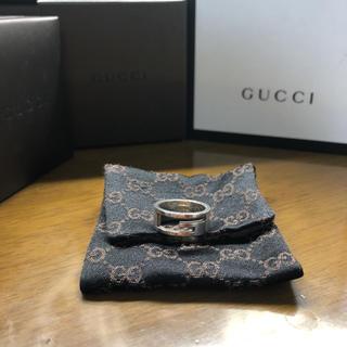 グッチ(Gucci)のGUCCI グッチ リング G型 確実正規品 13号 ユニセックス(リング(指輪))