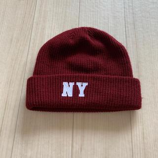 ブラウニー(BROWNY)のニット帽(ニット帽/ビーニー)