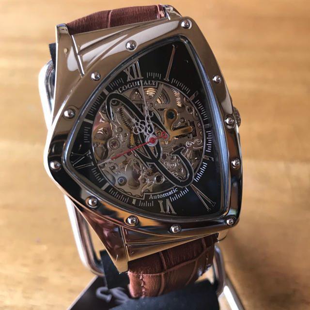 COGU - 新品✨コグ COGU 腕時計 メンズ BNTS-BK 自動巻き ブラウンの通販 by てっちゃん(´∀`)|コグならラクマ