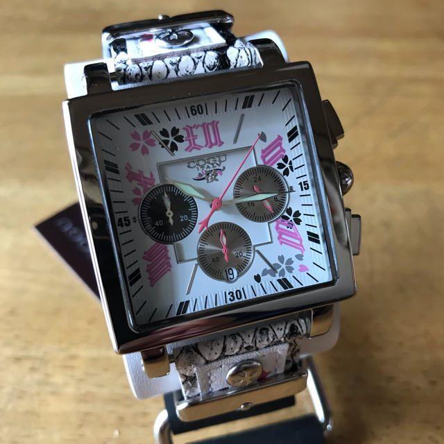 COGU - 新品✨コグ COGU 桜 SAKURA クロノ メンズ 腕時計 BNSKR-WHの通販 by てっちゃん(´∀`)|コグならラクマ