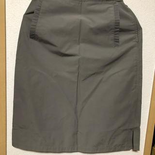 マックスマーラ(Max Mara)のMax&Maraのカーキ色スカートお値下げです‼️(ミニスカート)