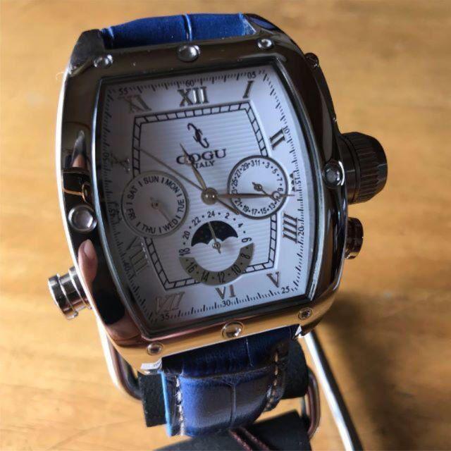 COGU - 新品✨コグ COGU 自動巻き メンズ 腕時計 C62-WBL ホワイトの通販 by てっちゃん(´∀`)|コグならラクマ