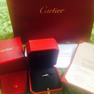 カルティエ(Cartier)のCartierバレリーナカーブリング7号(リング(指輪))