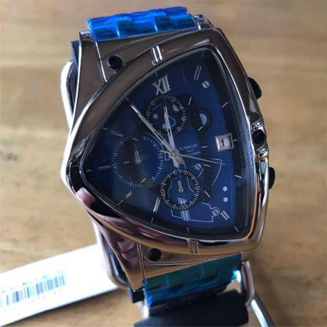 COGU - 新品✨コグ COGU クオーツ メンズ クロノグラフ 腕時計 C43M-BLの通販 by てっちゃん(´∀`)|コグならラクマ