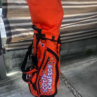 スコッティキャメロン(Scotty Cameron)のスコッティーキャメロンキャディーバッグ&トラベルカバー(バッグ)