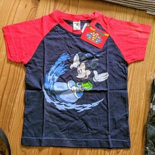 ミッキーマウス(ミッキーマウス)の新品未使用 ディズニー ミッキーマウス キッズ用 半袖Tシャツ 120サイズ(Tシャツ/カットソー)