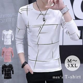 メンズロンT ロンT ロングTシャツ 長袖 メンズTシャツ メンズシャツ  (Tシャツ/カットソー(七分/長袖))